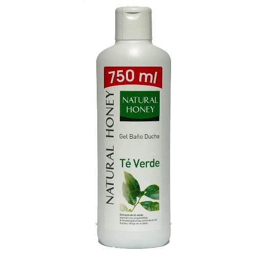 Gel De Baño Bottega Verde:Gel de baño natural honey té verde – TusProductosdeLimpiezacom