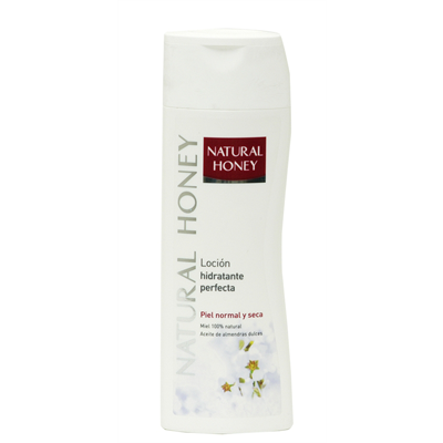 Body milk natural honey hidratante