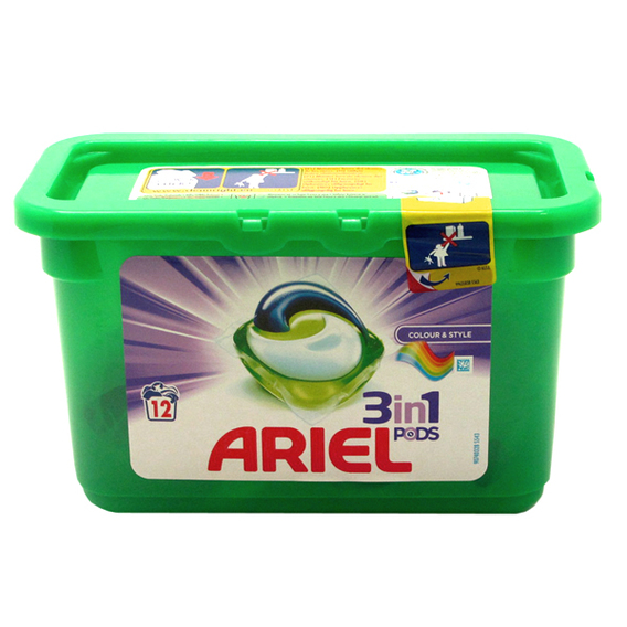 Cápsulas Ariel 3en1 Colour Style