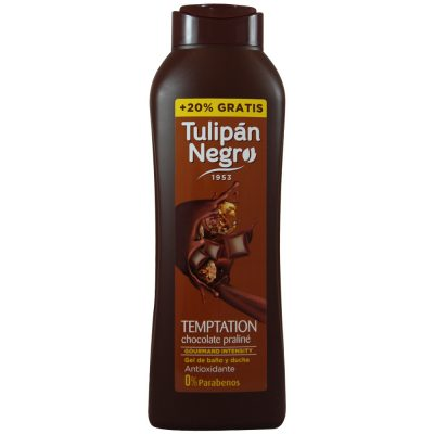 gel tulipan negro chocolate