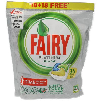 Fairy Platinum Limon 36 Cap